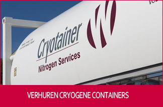 Verhuur cryogene containers